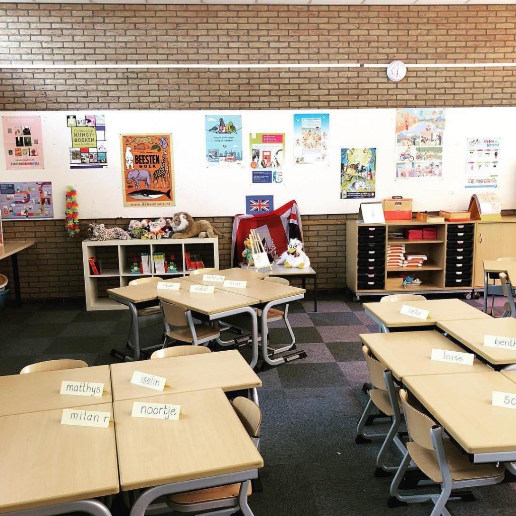 de schakel Leiderdorp klaslokaal