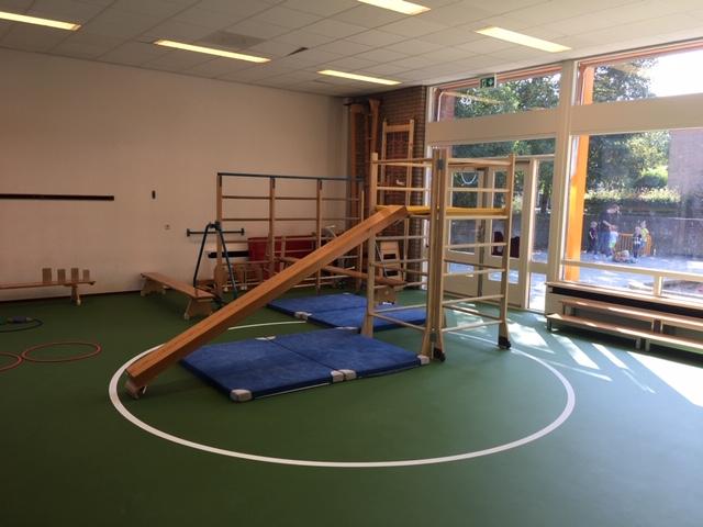 nieuwe inrichting speelzaal